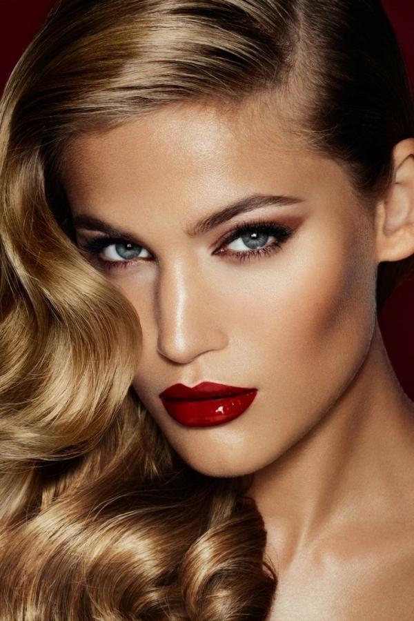 lipstick Stunning Red Lipstick Makeup Ideas stunning red lipstick makeup ideas 0 1