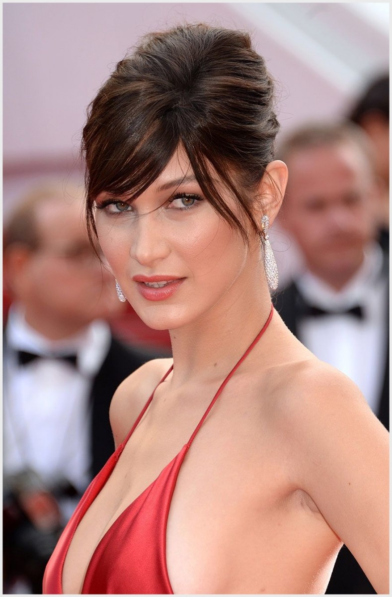 hairdo New Year Best Hairdo 2019 bella hadid won the cannes red carpet in a jaw dropping dress and