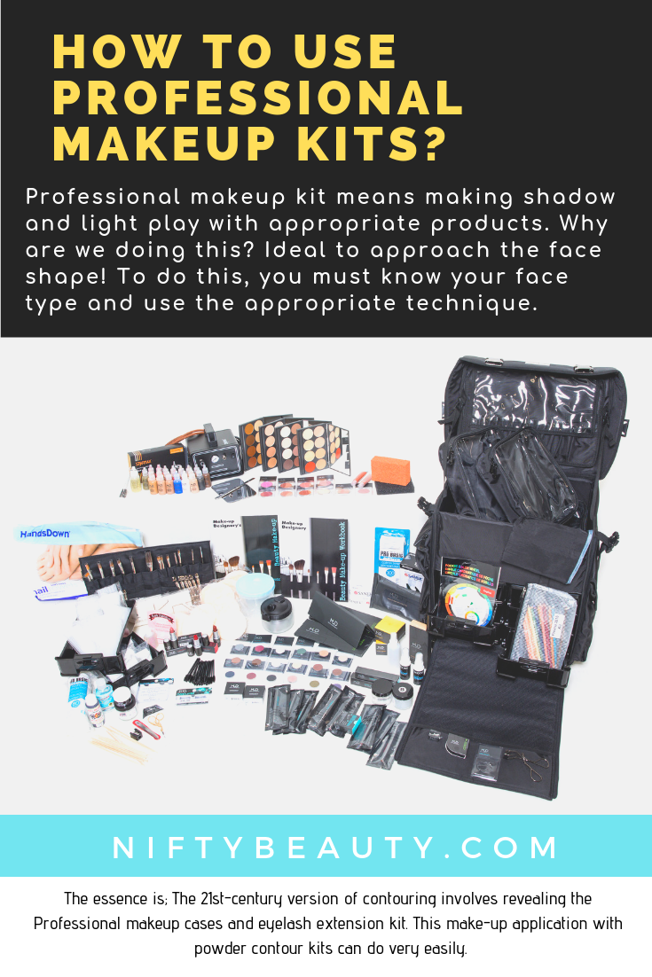 professional makeup kits How To Use Professional Makeup Kits? n  ftybeauty