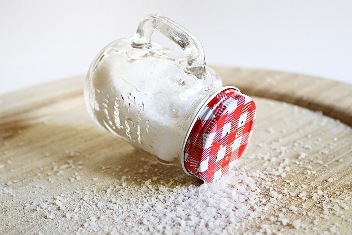 How to Lose Weight Faster mason jar filled with salt 2320244